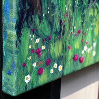 Forest Wildflower Meadow Original Painting Laura Milnor Iverson Official Site