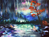 Autumn in the Rain Original Painting Laura Milnor Iverson Official Site