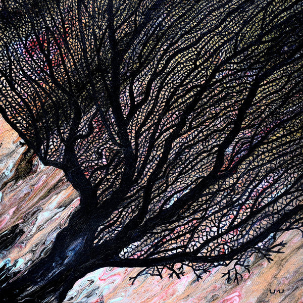 Sea Fan Original Painting - Laura Milnor Iverson Official Site