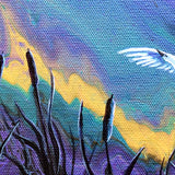 Tundra Swan Lake Original Painting
