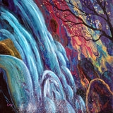 Waterfall Sentinel Original Painting