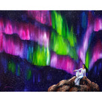 The Aurora Of Compassion Original Painting - Laura Milnor Iverson Official Site