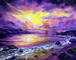 Dreaming Of San Francisco Original Painting