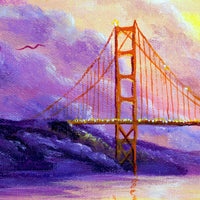 Dreaming Of San Francisco Original Painting - Laura Milnor Iverson Official Site