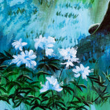 Early Morning Meditation In Blues And Greens Original Painting Laura Milnor Iverson Official Site