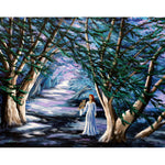 Magic in Cypress Woods Original Painting - Laura Milnor Iverson Official Site