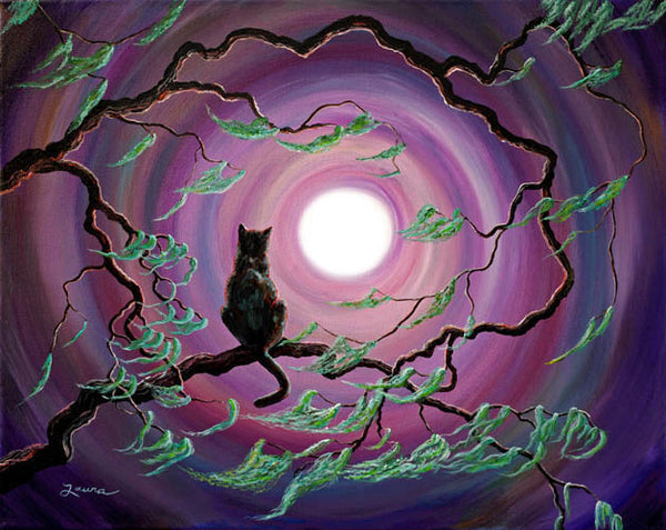 The Wind In My Fur Original Painting Laura Milnor Iverson Official Site