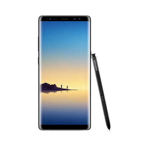 Samsung Galaxy Note 8 Midnight Black 64GB Sprint SM-N950UZKASPR - Brand New