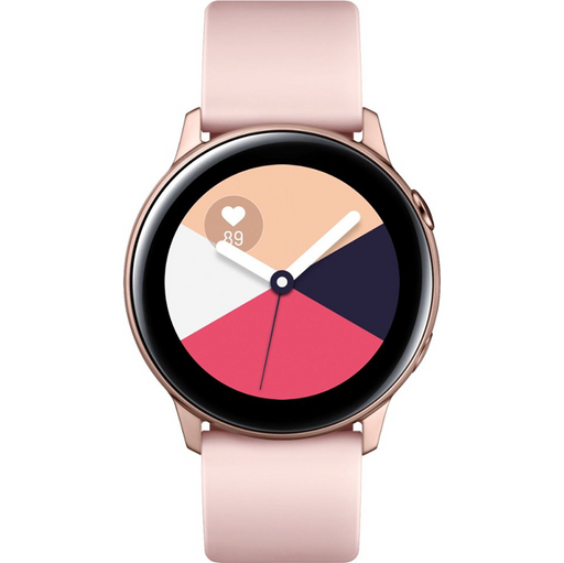Samsung Galaxy Watch Active 40mm Aluminum Rose Gold Smartwatch SM-R500NZDCXAR