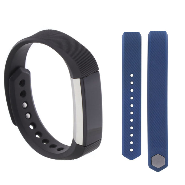 Fitbit Alta Activity Tracker Large Bundle with Large Blue Band FB158ABBUL