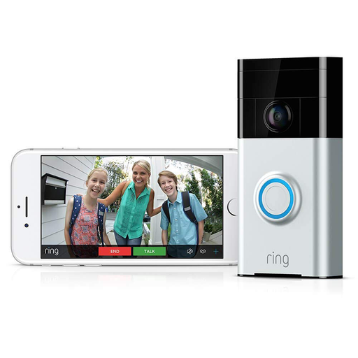Ring WiFi Enabled Smart Video Doorbell 8VR1S5-SEN0