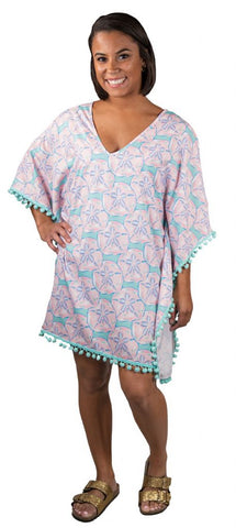 SIMPLY SOUTHERN BEACH COVER UP - YOUTH SHELL POMMED