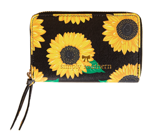 SIMPLY SOUTHERN LARGE ZIP WALLET [PICK YOUR DESIGN]