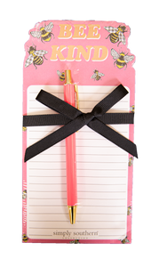 SIMPLY SOUTHERN NOTEPAD- BEE