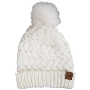 SIMPLY SOUTHERN BEANIE- IVORY