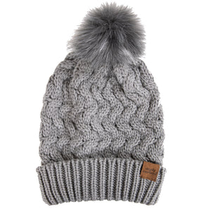 SIMPLY SOUTHERN BEANIE- GREY