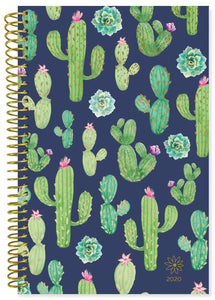 NAVY CACTI DAILY PLANNER