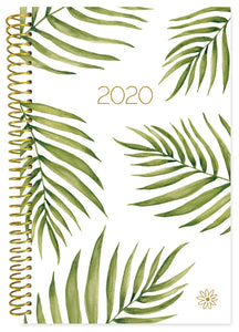 PALM LEAVES DAILY PLANNER