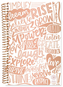 WORDS OF THE YEAR DAILY PLANNER