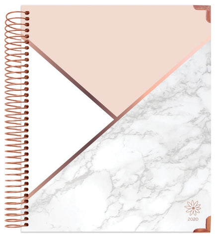 COLOR BLOCK MARBLE VISION PLANNER