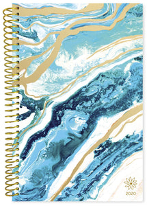 BLUE GEODE DAILY PLANNER