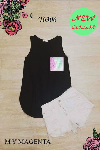 BLUMIN TANK WITH PRINT POCKET [PICK YOUR PRINT]