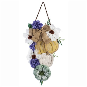 AUTUMN PUMPKINS DOOR DECOR