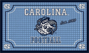 UNIVERSITY OF NORTH CAROLINA EMBOSSED DOORMAT