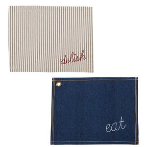 MUDPIE- DENIM PLACEMAT
