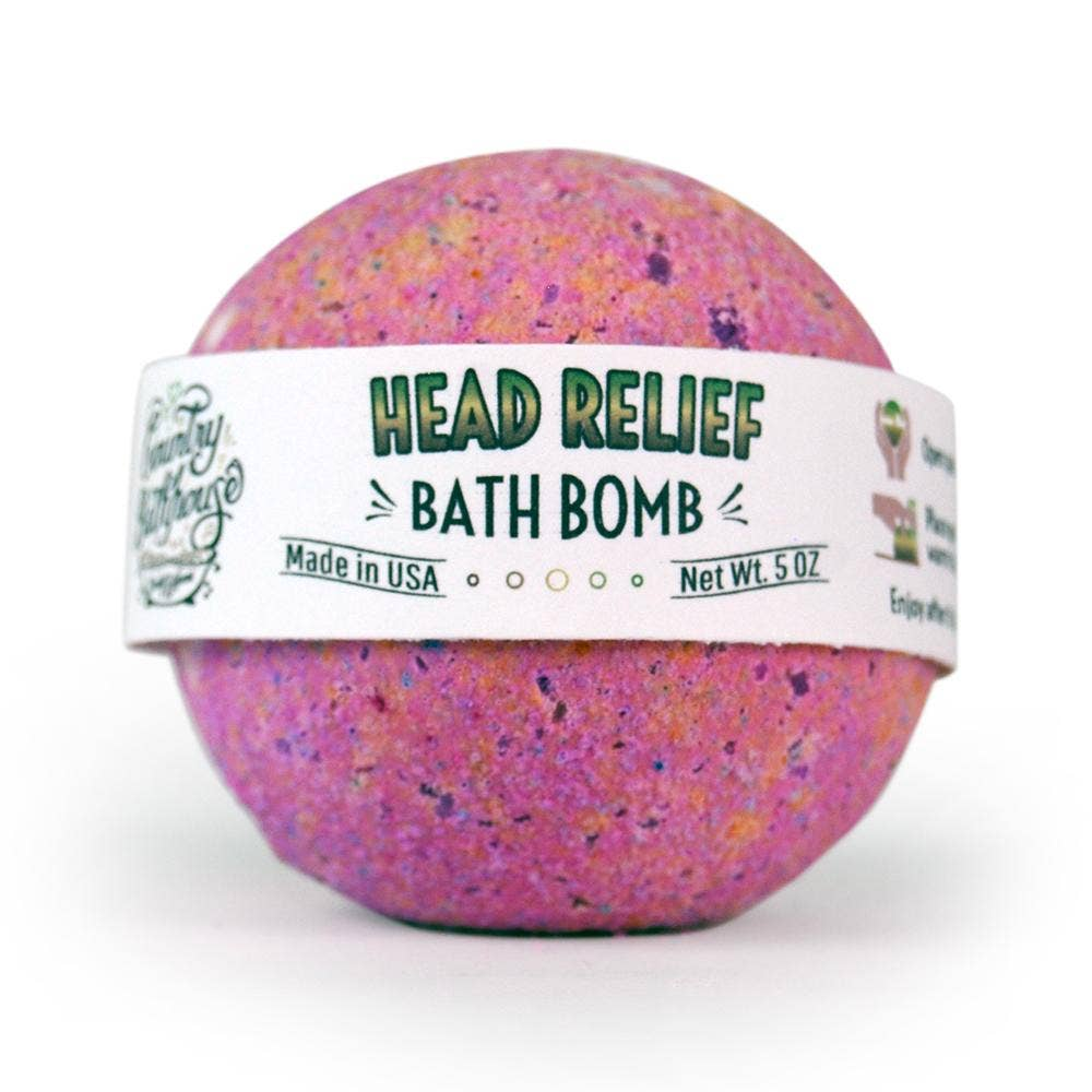 LARGE BATH BOMB- HEAD RELIEF