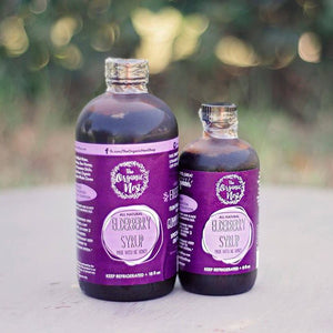 ORGANIC NEST ELDERBERRY SYRUP 16OZ