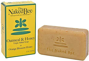 THE NAKED BEE- ORANGE BLOSSOM HONEY TRIPLE MILLED SOAP