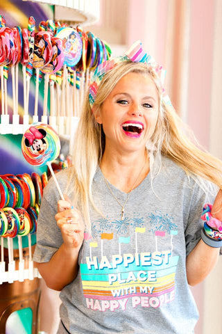 HAPPIEST PLACE GRAPHIC TEE