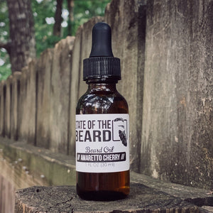 STATE OF THE BEARD - BEARD OIL AMARETTO CHERRY
