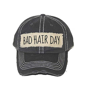 GREY BAD HAIR DAY HAT