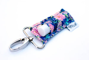 ROYAL & PINK FLORAL LIPPYCLIP