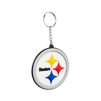 PITTSBURGH STEELERS RUBBER KEYCHAIN