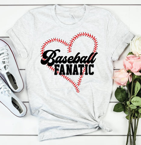 PRE-SALE BASEBALL FANATIC GRAPHIC TEE
