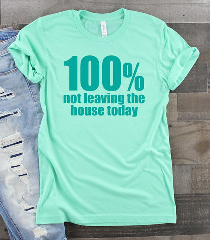 PRE-SALE 100% NOT LEAVING GRAPHIC TEE