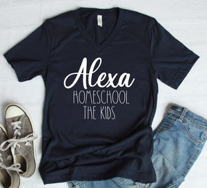 PRE-SALE ALEXA HOMESCHOOL THE KIDS GRAPHIC TEE