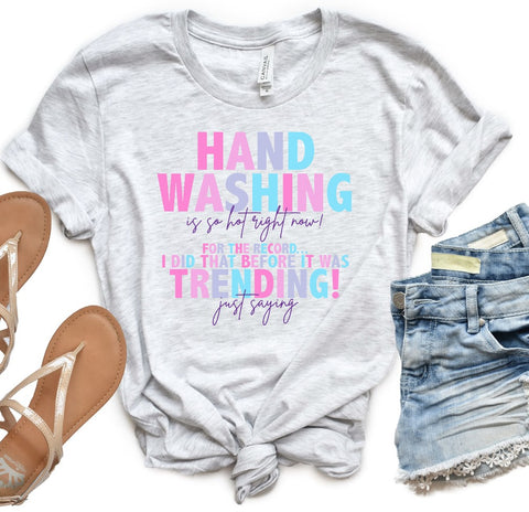PRE-SALE HAND WASHING GRAPHIC TEE