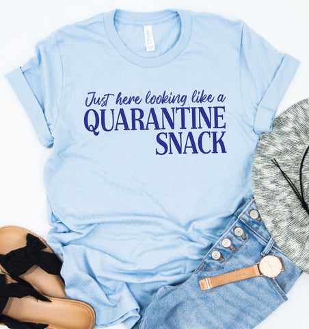PRE-SALE QUARANTINE SNACK GRAPHIC TEE