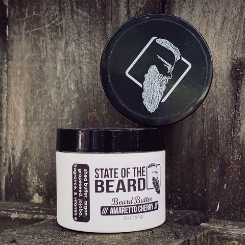 STATE OF THE BEARD - BEARD BUTTER AMARETTO CHERRY