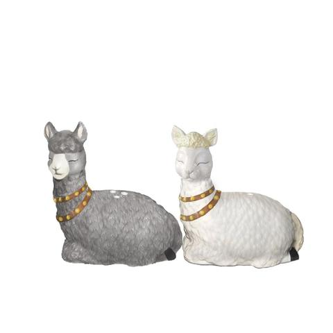 SALT & PEPPER SET- ALPACAS