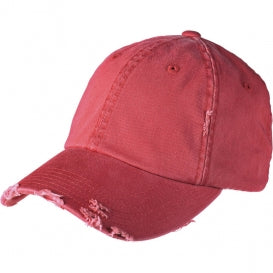RED VINTAGE DISTRESSED HAT