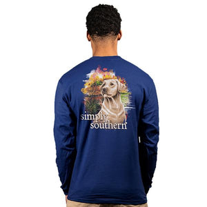 SIMPLY SOUTHERN LONG SLEEVE MEN - YELLER