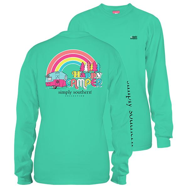 SIMPLY SOUTHERN LONG SLEEVE - HAPPY CAMPER