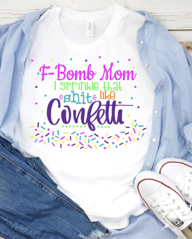 F BOMB MOM GRAPHIC TEE
