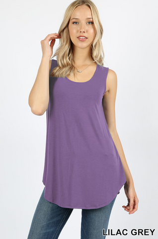 LILAC GREY TANK TOP [RT-2100]