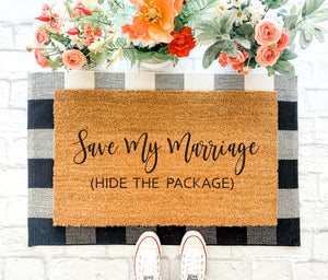 Save My Marriage Doormat [SF]